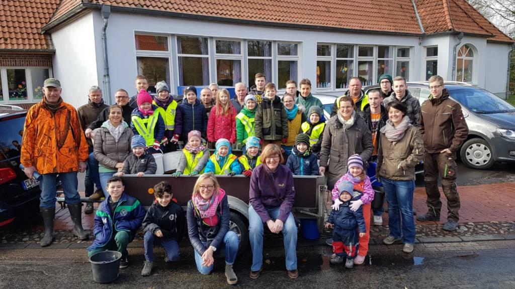 Umweltaktion 2017 in Sevelten