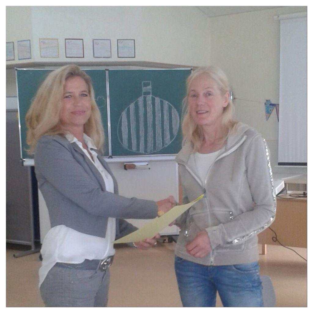 Dienstjubiläum Renate Höffmann